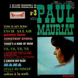 Альбом Поля Мориа (Paul Mauriat) — Третий альбом (Album No 3)